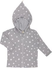 Max & Lilly Stellar world Wendejacke grau
