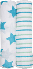 Lässig Swaddle Blanket Stars & Stripes