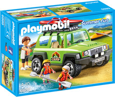 PLAYMOBIL®  Summer Fun - 6889 - Camp-Geländewagen