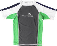 Snapperrock UV-Schutz Shirt grey lime