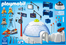 PLAYMOBIL® Action - 9055 - Polar Ranger Hauptquartier