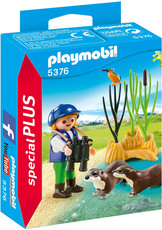 PLAYMOBIL®  Special Plus - 5376 - Otterforscherin