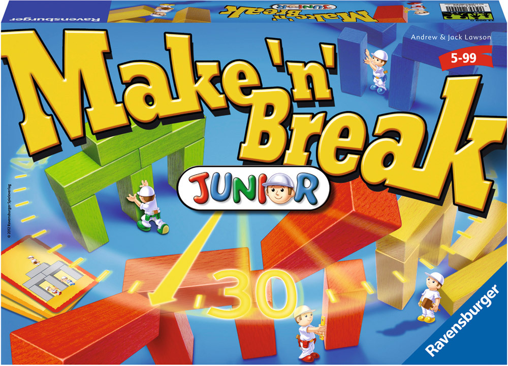 Lustige Kinderspiele Make 'n' Break Junior