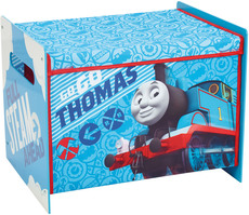 Worlds Apart Toy Box MDF + Canvas Thomas the Tank