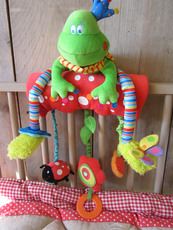 """dushi! Frog multi activity toy XL """"Into the forest"""""""
