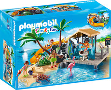 PLAYMOBIL® Family Fun - 6979 - Karibikinsel mit Strandbar