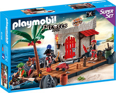 PLAYMOBIL® Pirates 6146 - SuperSet Piratenfestung