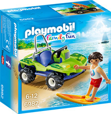 PLAYMOBIL® Family Fun - 6982 - Surfer mit Strandbuggy