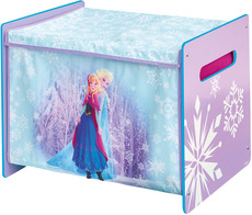 Worlds Apart Toy Box MDF + Canvas Frozen