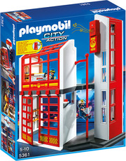 PLAYMOBIL® City Action 5361-Feuerwehrstation mit Alarm