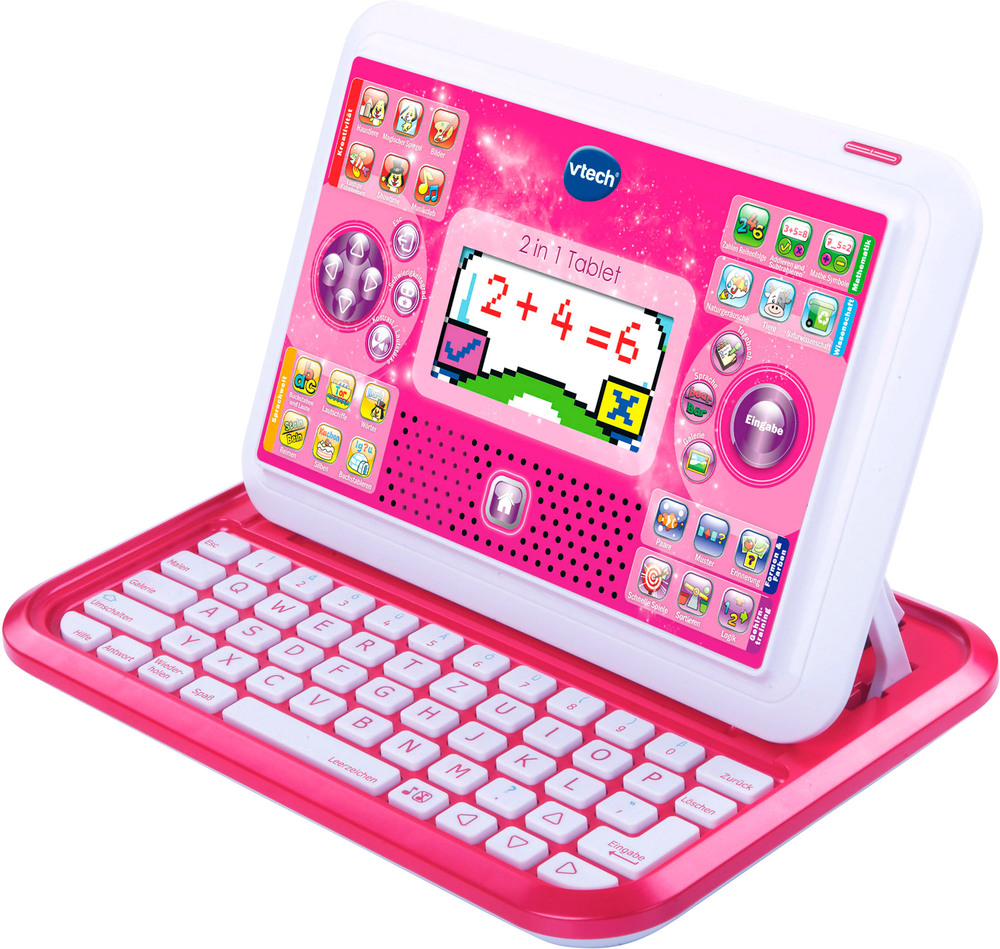 vtech lernpocket 2 in 1 tablet lerntablet jetzt online. Black Bedroom Furniture Sets. Home Design Ideas