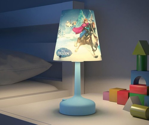 lampe de chevet portable piles la reine des neiges philips disney 0m lampes et veilleuses. Black Bedroom Furniture Sets. Home Design Ideas
