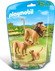 PLAYMOBIL® City Life 6642 Löwenfamilie