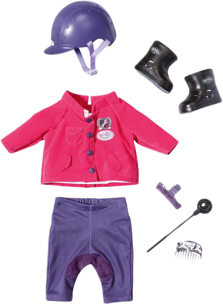 Zapf Creation BABY born® Pony Farm Deluxe Reit-Outfit