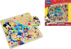 Eichhorn Mickey Mouse Clubhouse Steckpuzzle 5-teilig