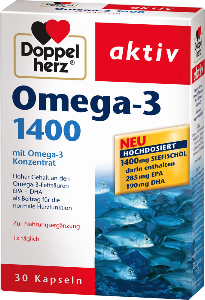 doppelherz omega 3 1300 mg omega3 jetzt online kaufen. Black Bedroom Furniture Sets. Home Design Ideas