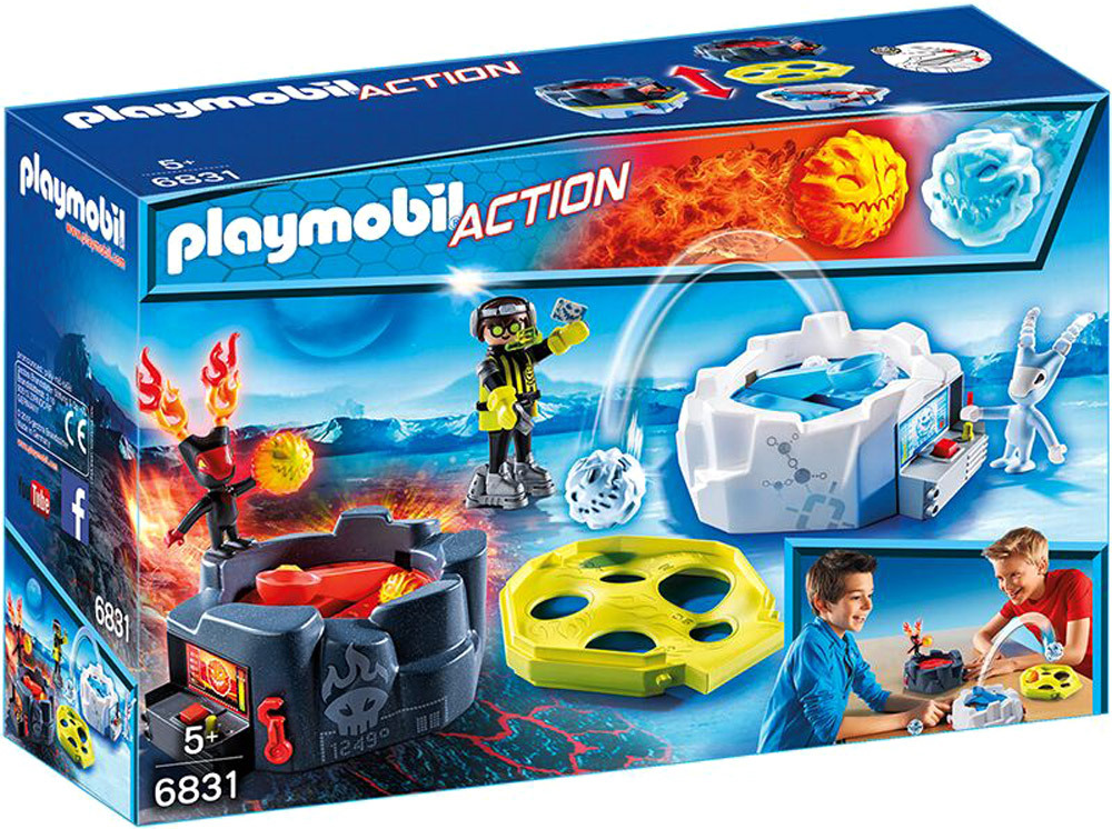 Action - 6831 - Fire & Ice Action Game