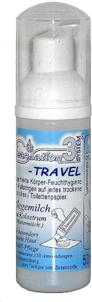 Cleansation 3-Travel  Babypflegemilch, 50ml (3302)