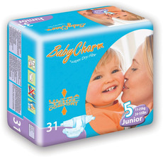 Baby Charm Super Dry Flex Windeln