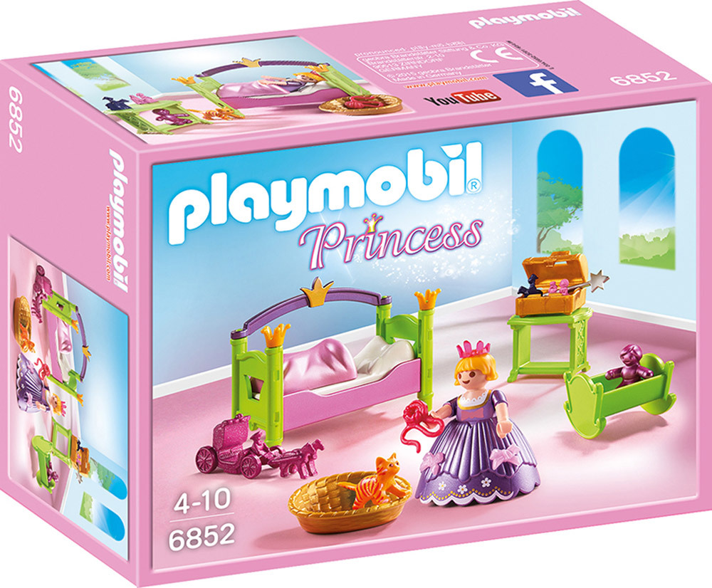 Playmobil princess 6852 prinzessinnen kinderzimmer - Couche adulte leclerc ...