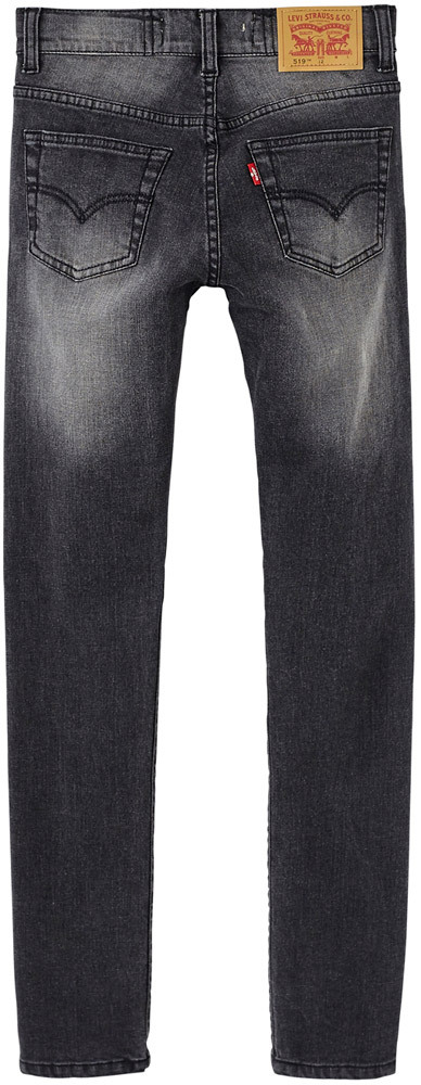 Jeans 5-Pocket-Style washed-Look grau