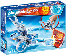 PLAYMOBIL®  Action - 6832 - Frosty mit Disc-Shooter