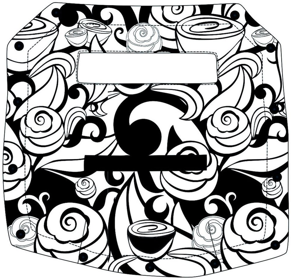 ERGObaby Options Cover  Swirls (OCPSWI)