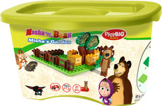 PlayBIG Bloxx Masha and The Bear Bear's Garden