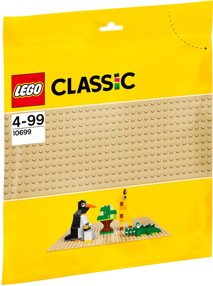 lego classic 10699 sandfarbene grundplatte lego bausteine jetzt online kaufen. Black Bedroom Furniture Sets. Home Design Ideas
