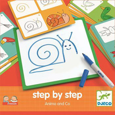 DJECO Eduludo: Step by step - Animals and Co
