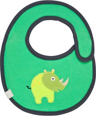 Lässig Lätzchen Waterproof Wildlife Rhino