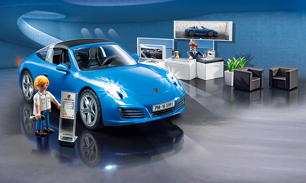 playmobil porsche 5991 porsche 911 targa 4s. Black Bedroom Furniture Sets. Home Design Ideas