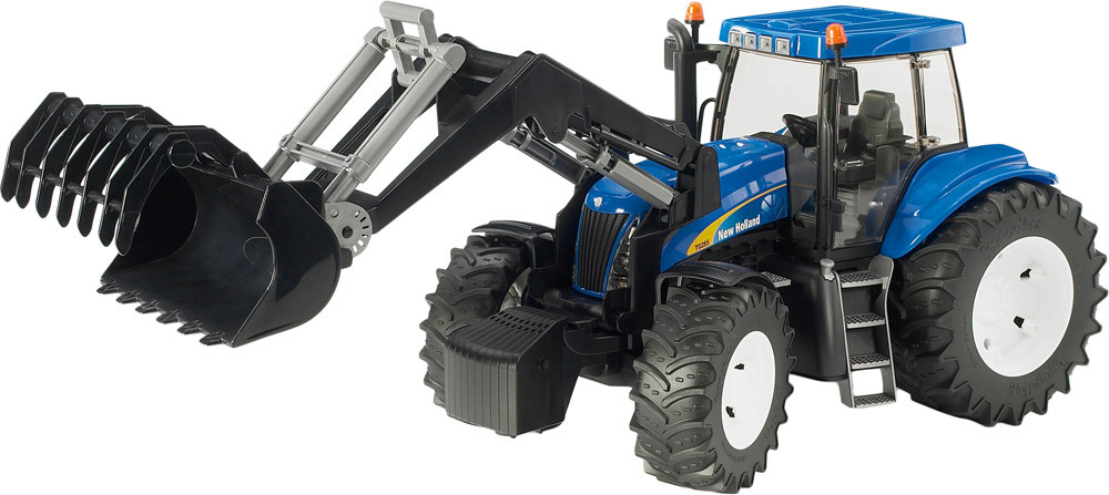 New Holland TG8040 mit Frontlader