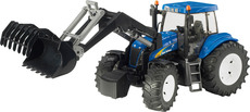 BRUDER New Holland TG8040 mit Frontlader