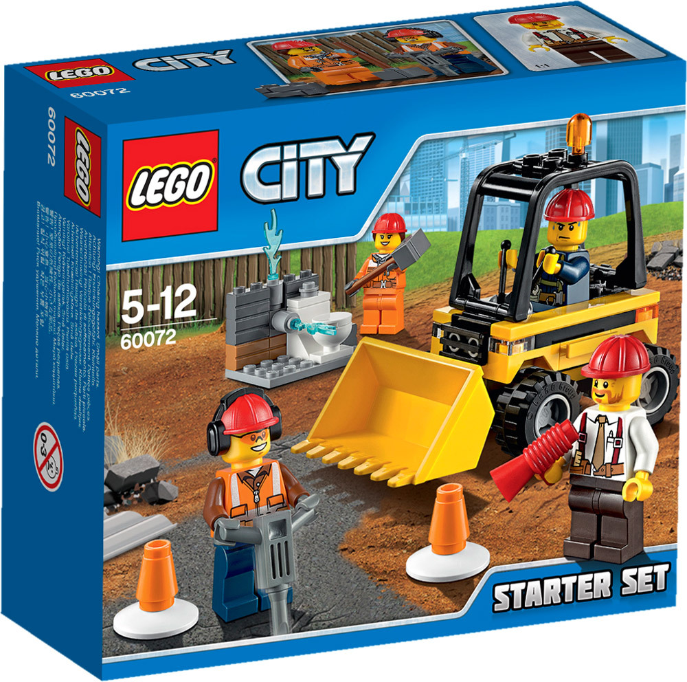 lego city baustelle 60072 abriss experten starter set lego jetzt online kaufen. Black Bedroom Furniture Sets. Home Design Ideas