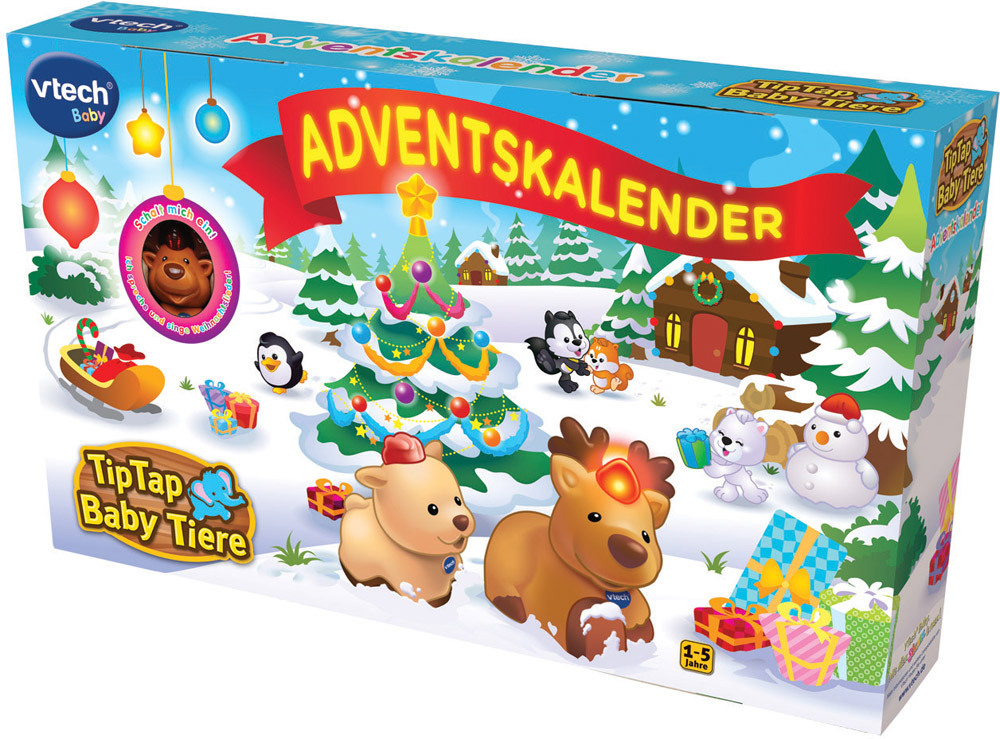 vtech tip tap baby tiere adventskalender 2016 weihnachten jetzt online kaufen. Black Bedroom Furniture Sets. Home Design Ideas