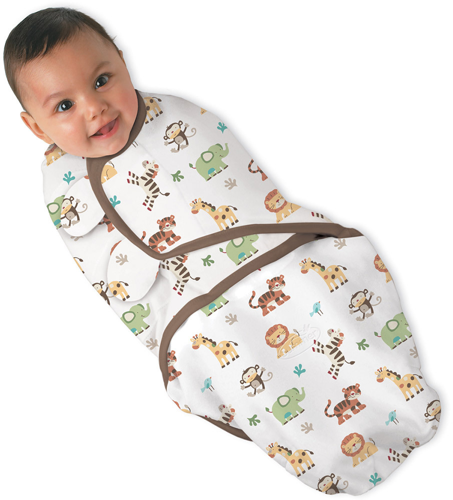 Summer Swaddle Me  Jungle, Small (672014)