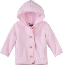 fiftyseven by Sanetta  Polar Fleece Jacke mit Kapuze