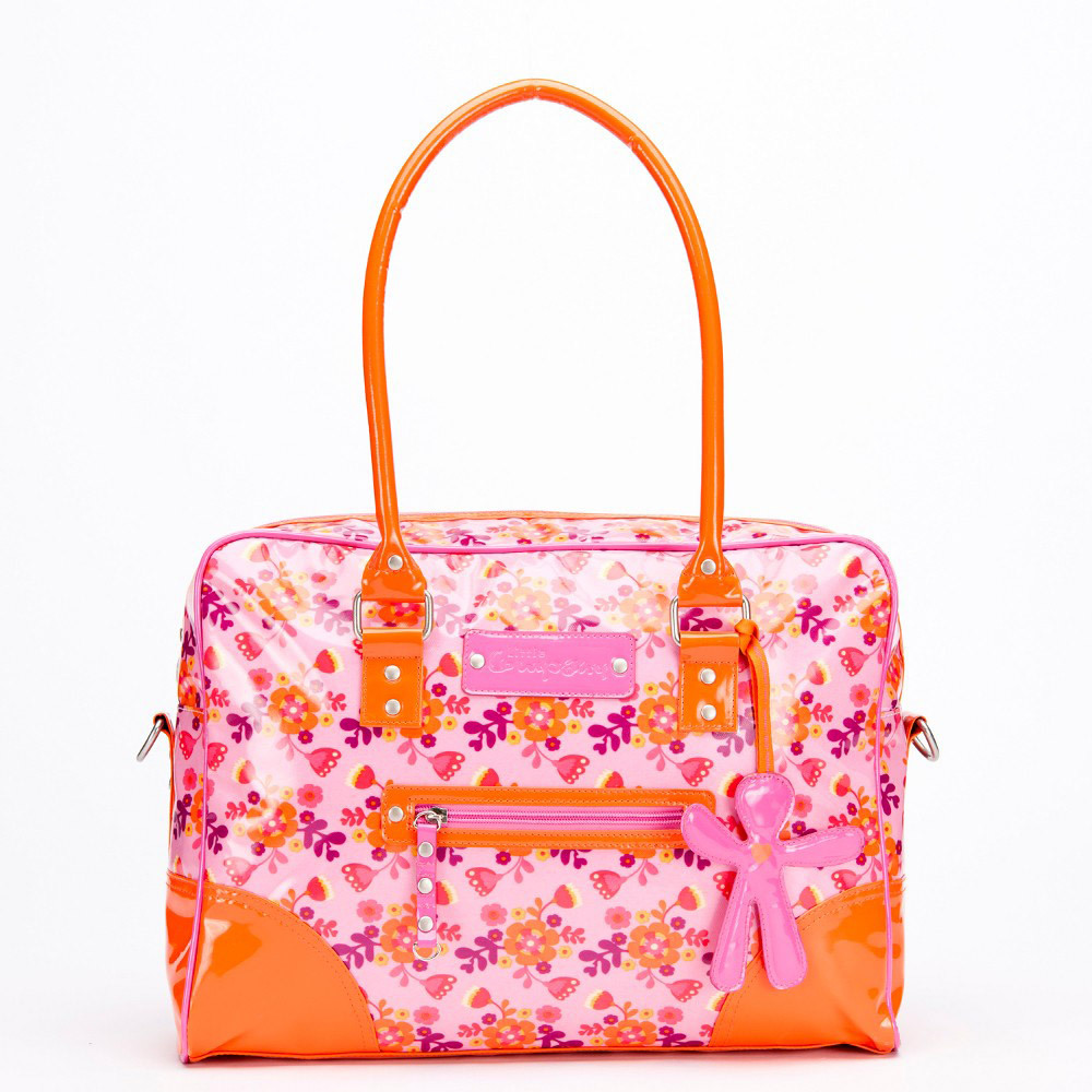 Little Company Wickeltasche LC Today Glossy Bag  orange, pink (LCTG01.OP)