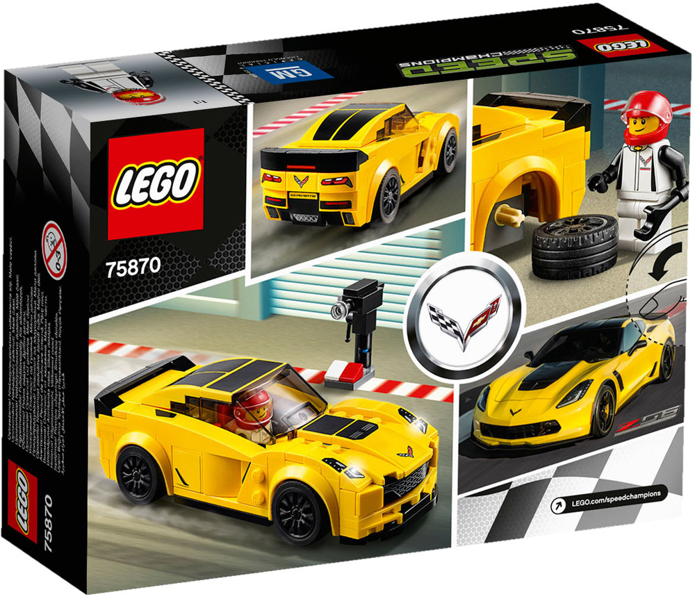 lego speed champions 75870 chevrolet corvette z06 lego jetzt online kaufen. Black Bedroom Furniture Sets. Home Design Ideas