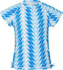 Snapperrock Rash T-Shirt blaue Feder