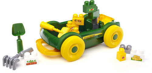 mega bloks john deere garten wagen gartenger te f r kinder jetzt online kaufen. Black Bedroom Furniture Sets. Home Design Ideas