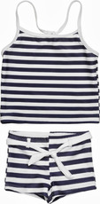SnapperRock UV Tankini-Shorts-Set Striped