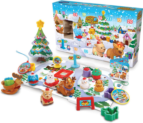 vtech tip tap baby tiere adventskalender weitere sammelpuppen jetzt online kaufen. Black Bedroom Furniture Sets. Home Design Ideas