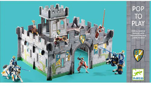 DJECO Pop to play: Medieval castle 3D   Spielsets - Jetzt online kaufen
