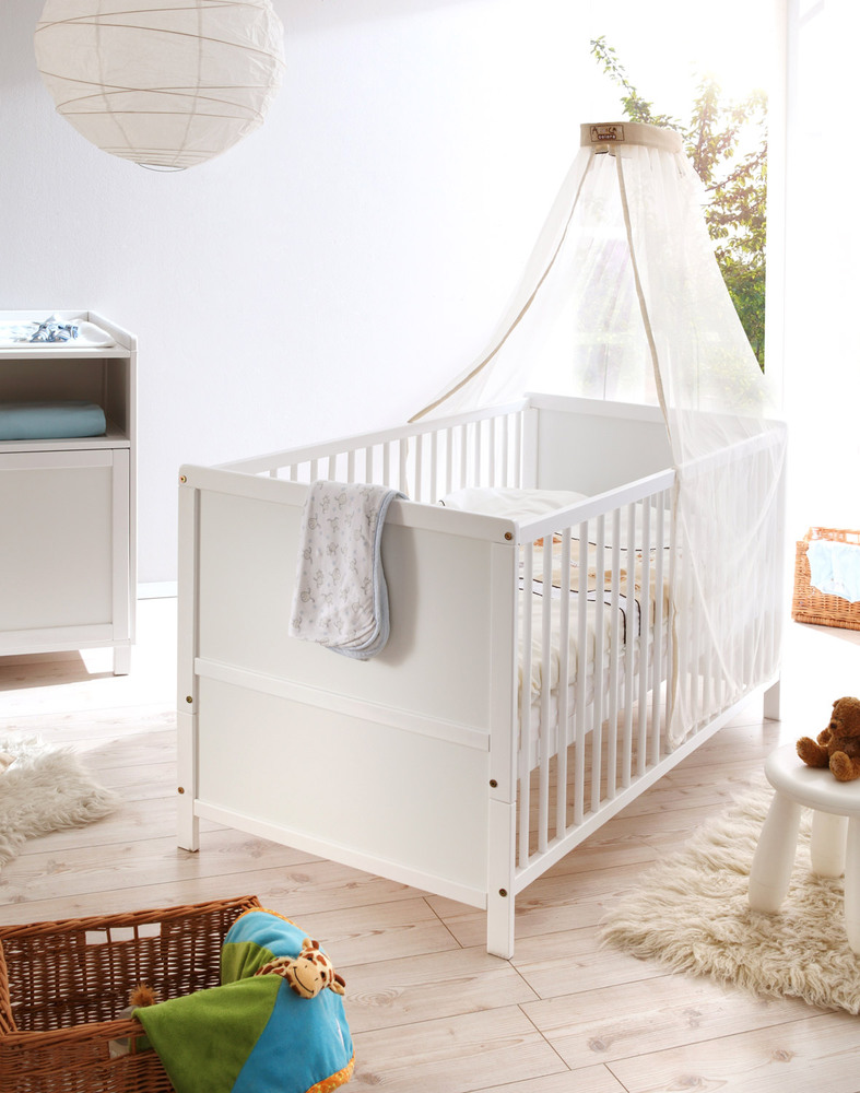 Babybett Set Croco