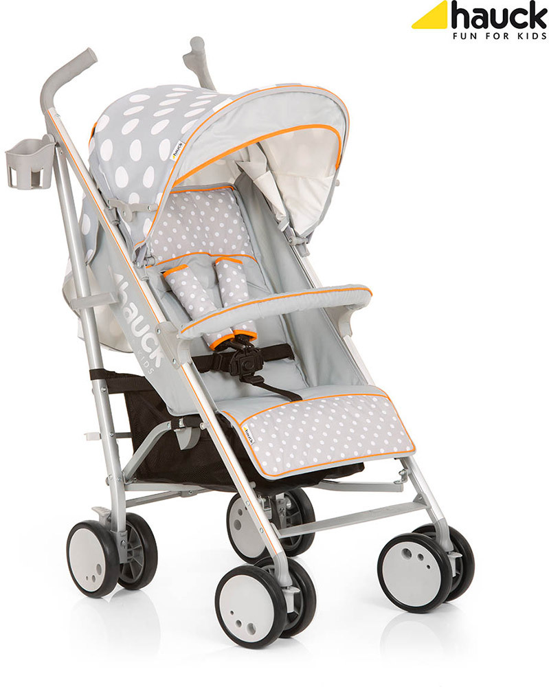 hauck Buggy Torro  dots grey (132845)