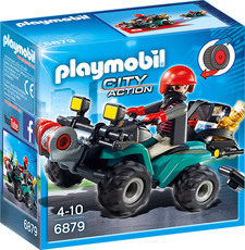 PLAYMOBIL®  City Action - 6879 - Ganoven-Quad mit Seilwinde