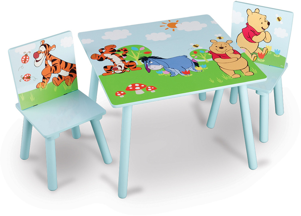 kindertisch winnie pooh bestseller shop f r m bel und einrichtungen. Black Bedroom Furniture Sets. Home Design Ideas