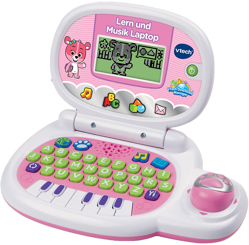 vtech lern und musik laptop kindertablet lernlaptop. Black Bedroom Furniture Sets. Home Design Ideas